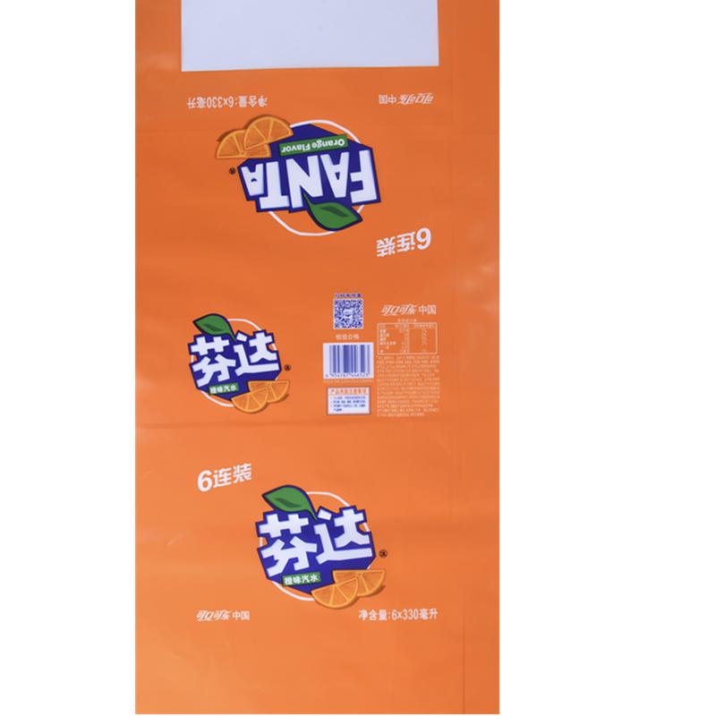 可乐公司芬达橙味PE彩印膜